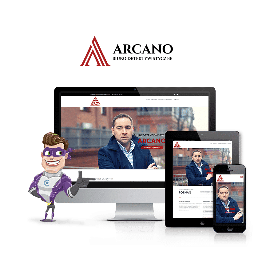 arcano Home desktop 1 - IT HEROES